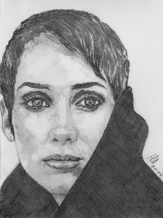 Winona Ryder por ABO